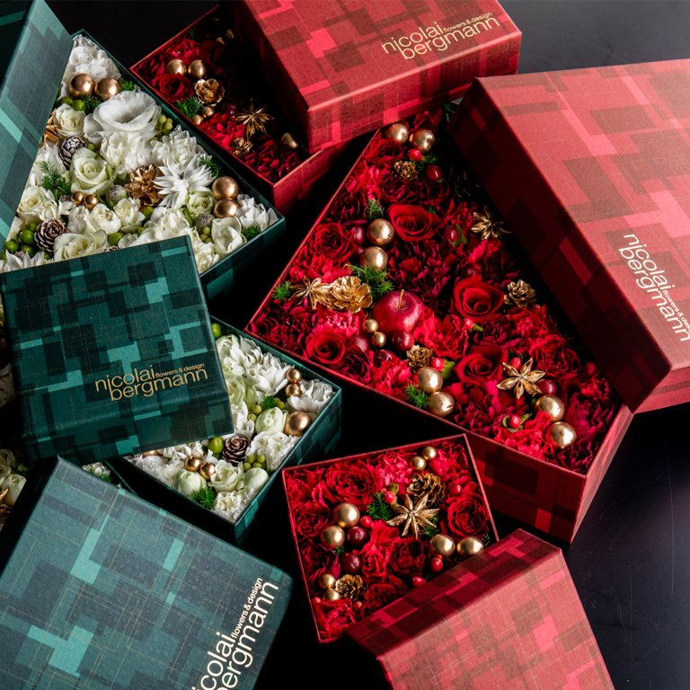 2015 Christmas Limited Flower Box Arrangemnet